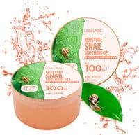 LEBELAGE «Moisture Snail Purity 100% Soothing Gel» Увлажняющий успокаивающий гель с муцином улитки, 300 мл.