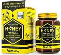 "FarmStay ""All-In-One Honey Ampoule"" Многофункциональная ампульная сыворотка с мёдом, 250 мл."