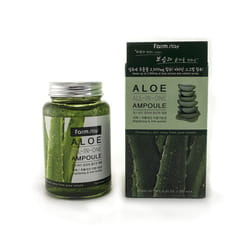 "FarmStay ""Aloe All-In-One Ampoule"" Многофункциональная ампульная сыворотка с экстрактом алоэ, 250 мл."