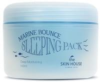 THE SKIN HOUSE «Marine Bounce Sleeping Pack» Ночная маска с морским коллагеном, 100 мл.