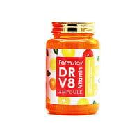 """FarmStay """"DR-V8 Vitamin Ampoule"""" Ампульная сыворотка с витаминами, 250 мл."""