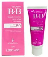 LEBELAGE «4Season BB Cream» ВВ-крем, SPF50/PA+++, 30 мл.