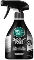 KAO «Resesh EX Plus» Суперэффективный дезодорант-нейтрализатор неприятных запахов для спортивной и рабочей одежды, без аромата, 360 мл.