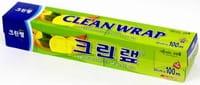 Clean Wrap Плотная пищевая пленка (с отрывным краем-зубцами), 30 см х 100 м.