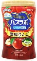 """Hakugen """"Hers Bath Labo"""" Увлажняющая соль для ванны, с восстанавливающим эффектом, с гиалуроновой кислотой и ароматом яблока, 640 г."""