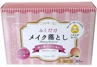 Kyowa Влажные салфетки для снятия макияжа, с экстрактом листьев персика, 30 шт.