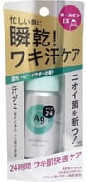 SHISEIDO «Ag Deo24» Роликовый дезодорант-антиперспирант, с ионами серебра, с лёгким цветочным ароматом детской присыпки, 40 мл.