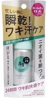"""Shiseido """"Ag Deo24"""" Роликовый дезодорант-антиперспирант, с ионами серебра, с лёгким цветочным ароматом детской присыпки, 40 мл."""