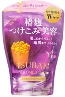 SHISEIDO «Tsubaki Volume Touch» Кондиционер для придания объёма волосам, с маслом камелии, мягкая упаковка, 380 мл.