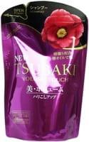 SHISEIDO «Tsubaki Volume Touch» Шампунь для придания объёма волосам, с маслом камелии, мягкая упаковка, 345 мл.