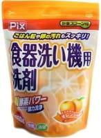 """Lion """"Pix"""" Порошок для мытья посуды в посудомоечной машине, с двойной силой ферментов, с ароматом цитрусовых, 650 г."""