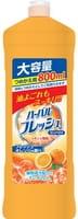 Mitsuei Концентрированное средство для мытья посуды, овощей и фруктов, с ароматом апельсина, 800 мл.