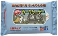 JEX Влажные салфетки для салона автомобиля, 20х30 см, 20 шт.