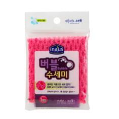 Cleanwrap Мочалка-сетка для мытья посуды (жёсткая), 19х22 см, 1 шт.