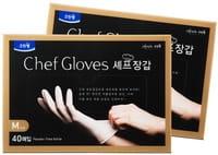 Clean wrap Перчатки для приготовления пищи (тонкие, неопудренные), размер М, 20 шт.