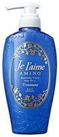 KOSE Cosmeport «Je l'aime - Amino» Тритмент для повреждённых волос «Глубокое увлажнение», с аминокислотами, цветочный аромат, 500 мл.