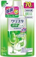 """LION """"Cristal"""" Гель для посудомоечных машин с мятно-цитрусовым ароматом, 420 гр."""