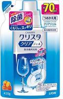 """Lion """"Cristal"""" Гель для посудомоечных машин, с ароматом апельсина, сменная упаковка, 420 гр."""