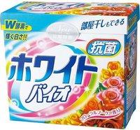 """Nihon Стиральный порошок с кондиционером """"White Bio Plus Antibacterail"""" с цветочным ароматом, 800 гр."""
