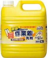 Mitsuei Гель для стирки рабочей одежды, с мощными ферментами, дезодорирующий, 4 л.