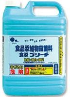 Mitsuei Универсальное моющее и отбеливающее средство для кухни (для обработки фруктов, овощей, кухонного текстиля, посуды и поверхностей), 5 л.