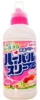 Mitsuei Гель для стирки с ферментами, нежный аромат розы, 450 гр.