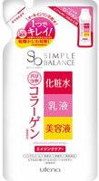 """Utena """"Simple Balance"""" Комплексный лосьон для утреннего ухода за кожей лица """"3 в 1"""" - лосьон + молочко + эссенция, с коллагеном, подтягивающий, сменная упаковка 200 мл."""