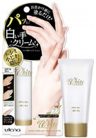 Utena Крем для рук с конхиолином, коллагеном, гиалуроновой кислотой, придающий натуральный оттенок коже, с SPF 16 PA+ (защитный, увлажняющий), 50 гр.