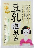 """Kokubo """"Novopin"""" Пенящаяся соль с экстрактом сои и гиалуроновой кислотой, 30 гр."""