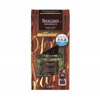 """ST """"Shaldan - Древесный уют"""" Освежитель воздуха для комнаты, стеклянный флакон с наполнителем + компактные палочки, 65 мл."""