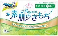"""Daio Paper Japan """"Elis Megami Slim Maxi"""" Тонкие особомягкие гигиенические прокладки с усиленным впитывающим слоем, с крылышками (Макси) 27 см, 18 шт."""