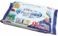 Life-do Влажные салфетки для микроволновых печей и холодильников, 20 шт.