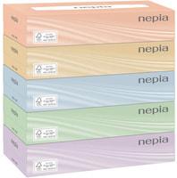 """NEPIA Двухслойные бумажные салфетки классические """"NEPIА"""", 5 пачек по 200 шт."""