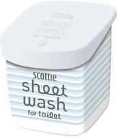 Scottie Влажные полотенца - водорастворимые, с антибактериальным эффектом, для обработки туалета, с легким мятным ароматом, 10 шт.