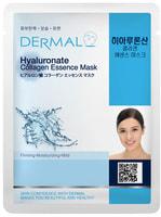 Dermal «Гиалуроновая кислота» Косметическая маска с коллагеном и гиалуроновой кислотой, 1 шт.