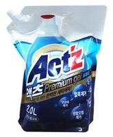 """Pigeon (Корея) Act'z Premium Gel"""" Концентрированный гель для стирки белья, для машин с вертикальной и горизонтальной загрузкой, аромат мяты, сменная упаковка, 1 л."""