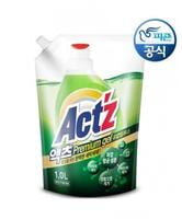 """Pigeon (Корея) """"Act'z Premium Gel"""" Концентрированный гель для стирки белья, для машин с вертикальной и горизонтальной загрузкой, аромат эвкалипта, сменная упаковка, 1 л."""