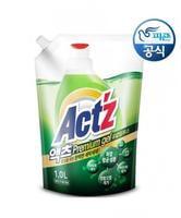"""Pigeon """"Act'z Premium Gel"""" Концентрированный гель для стирки белья, для машин с вертикальной и горизонтальной загрузкой, аромат эвкалипта, сменная упаковка, 1 л."""