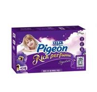 """Pigeon """"Rich Perfume Dryer Sheet Signature"""" - Тайны дождя Салфетки-кондиционер для сушки белья в сушильной машине, 40 листов."""