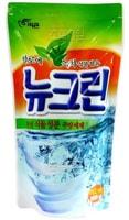"""Pigeon """"New Clean - Aloe & Green tea"""" Жидкость для мытья посуды с экстрактом Алоэ и зеленым чаем, сменная упаковка, 782 мл."""