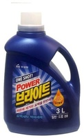 """Mukunghwa Жидкое средство для стирки """"One shot! Power Bright Liquid Detergent"""" с ферментами (очищающее до глубины волокон и придающее яркость), 3 л."""