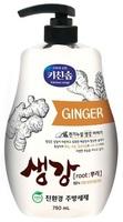 MUKUNGHWA Средство для мытья посуды, овощей и фруктов в холодной воде, экстрактом имбиря, бутылка 750 мл.