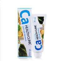 """Mukunghwa """"Calcium Health Clinic"""" Зубная паста с кальцием для профилактики кариеса, 100 гр."""