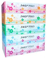 """Kami Shodji """"ELLEMOI Piko"""" Бумажные двухслойные салфетки, спайка 5 из пачек."""