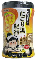 """Hakugen """"Hakugen Earth - Банное путешествие"""" Увлажняющая соль для ванны с восстанавливающим эффектом (с ароматом юдзу), банка 600 гр."""