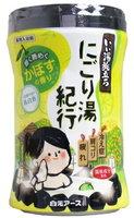 """Hakugen """"Hakugen Eart - Банное путешествие"""" Увлажняющая соль для ванны с восстанавливающим эффектом (с ароматом цитрусов), банка 600 гр."""