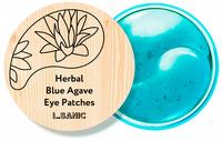 "L.SANIC ""Herbal Blue Agave Hydrogel Eye Patches"" Гидрогелевые патчи с экстрактом голубой агавы, 60 шт."