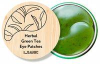 """L.SANIC """"Herbal Green Tea Hydrogel Eye Patches"""" Гидрогелевые патчи с экстрактом зеленого чая, 60 шт."""