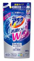 """KAO """"Attack Neo EX Power"""" Жидкое концентрированное средство для стирки белья с антибактериальным эффектом, с морским ароматом, сменная упаковка, 360 гр."""