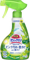 """KAO """"Magiclean Super Clean"""" Пенящееся моющее средство для ванной комнаты с ароматом зелени, спрей, 380 мл."""